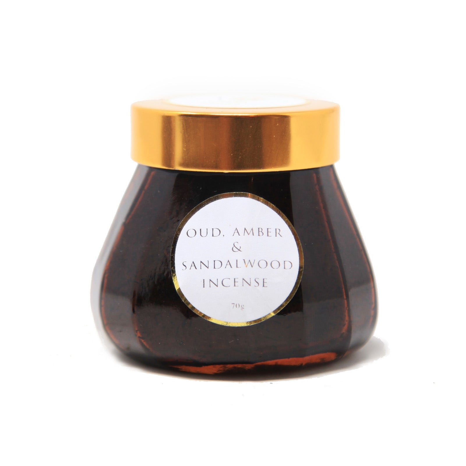 Oud Incense with Amber and Sandalwood - 70g