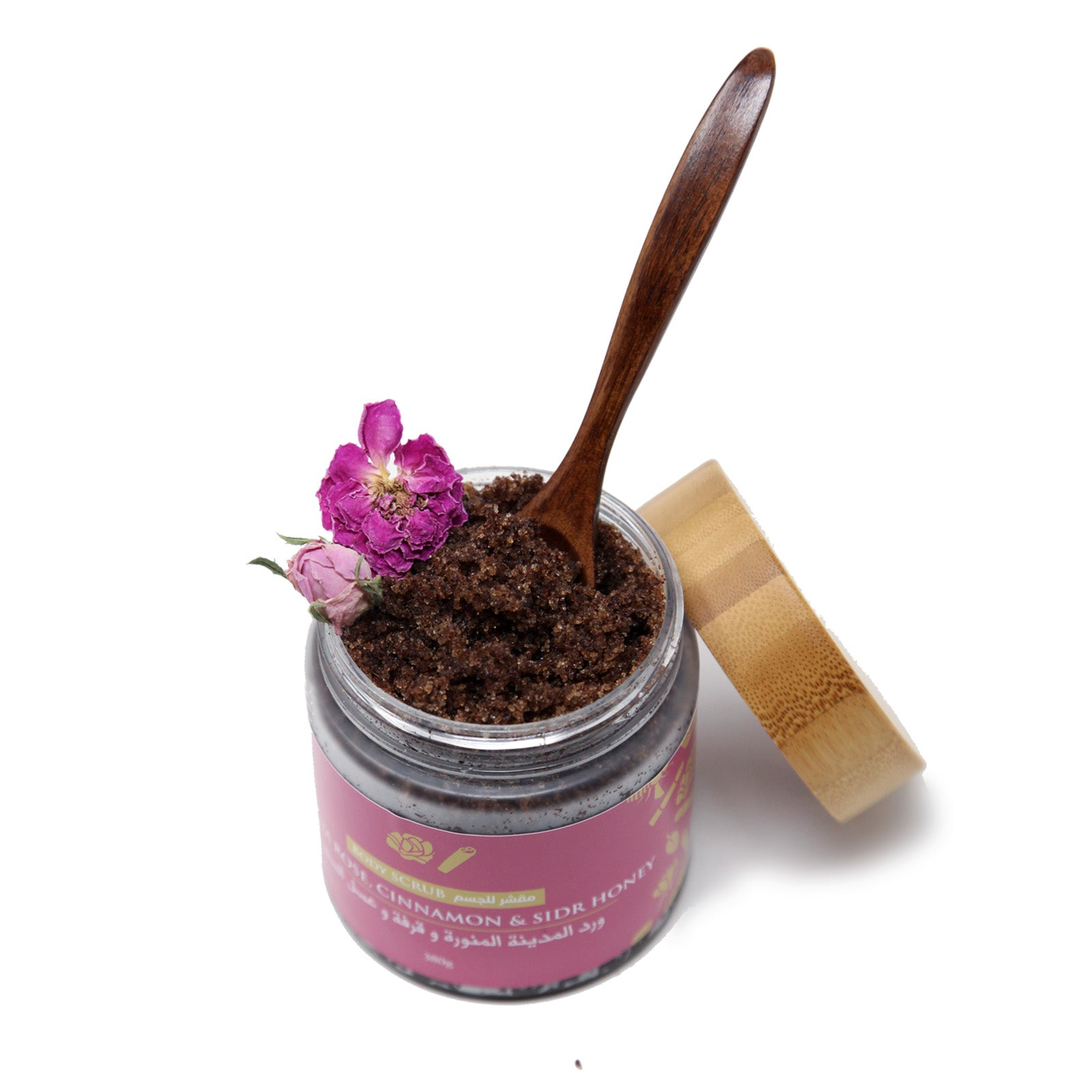 Madina Rose, Cinnamon and Sidr Honey Face and Body Scrub - 350g