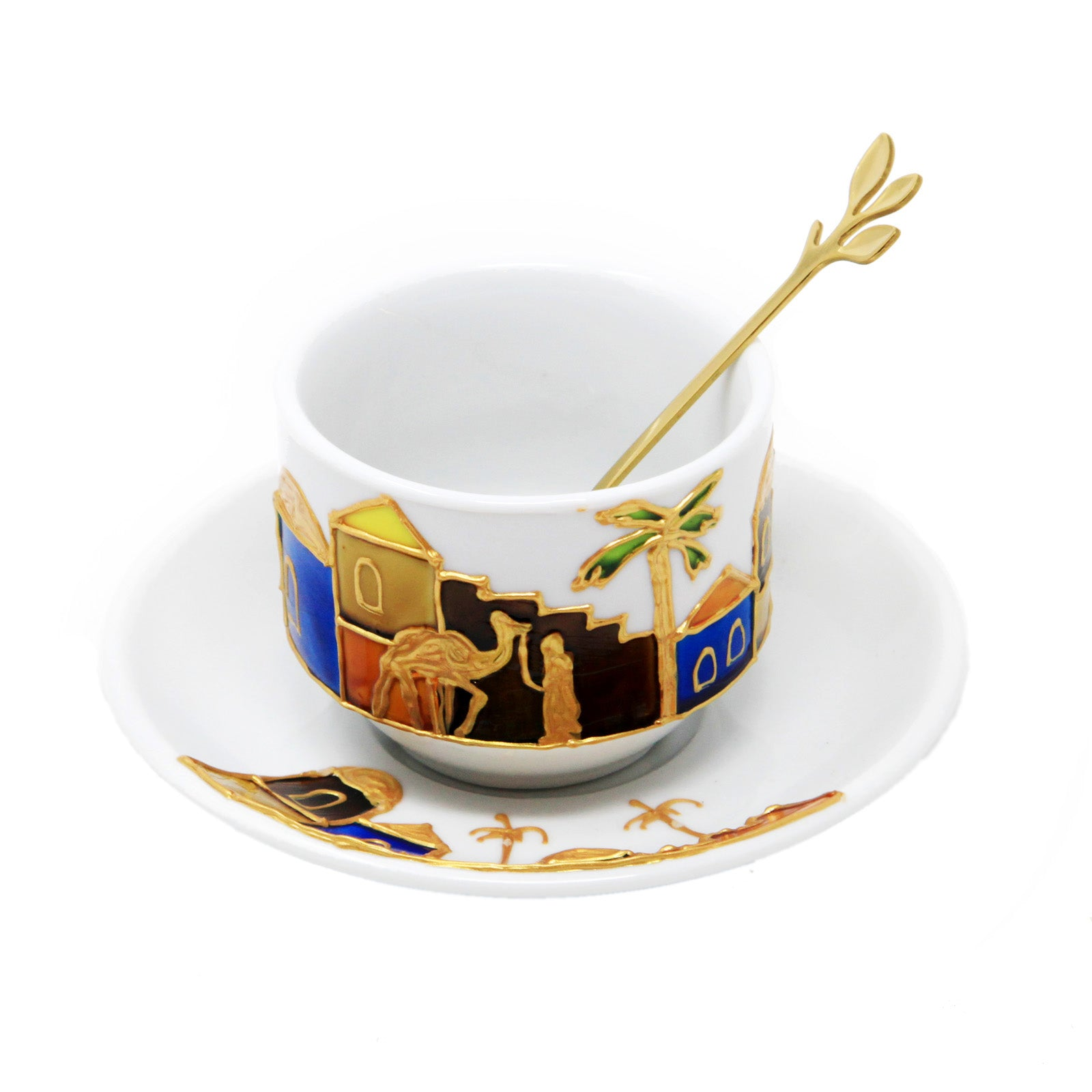 Arabian Tea Cup and Saucer