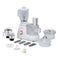 Rico FP1806 700W Food Processor with 28 Operations (3 Jars, White)