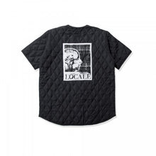 Load image into Gallery viewer, QUILTED SHIRT BLACK