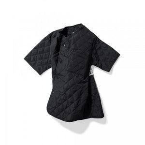 QUILTED SHIRT BLACK