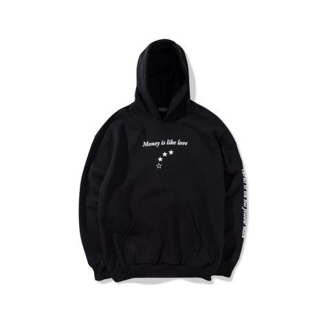 Currency Black hoodie