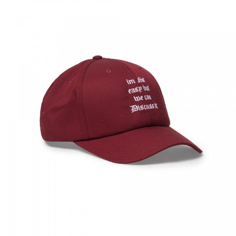 I'm Not Easy Maroon Hat