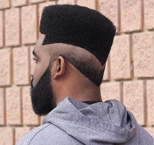 Flat Top + Dégradé inversé