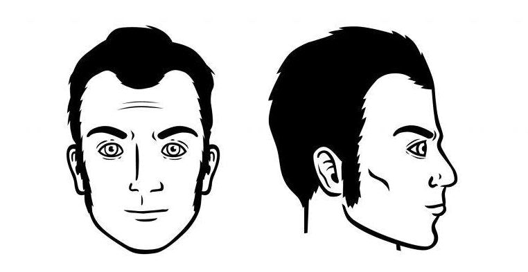 Barbe Sideburns - Coupe de cheveux homme