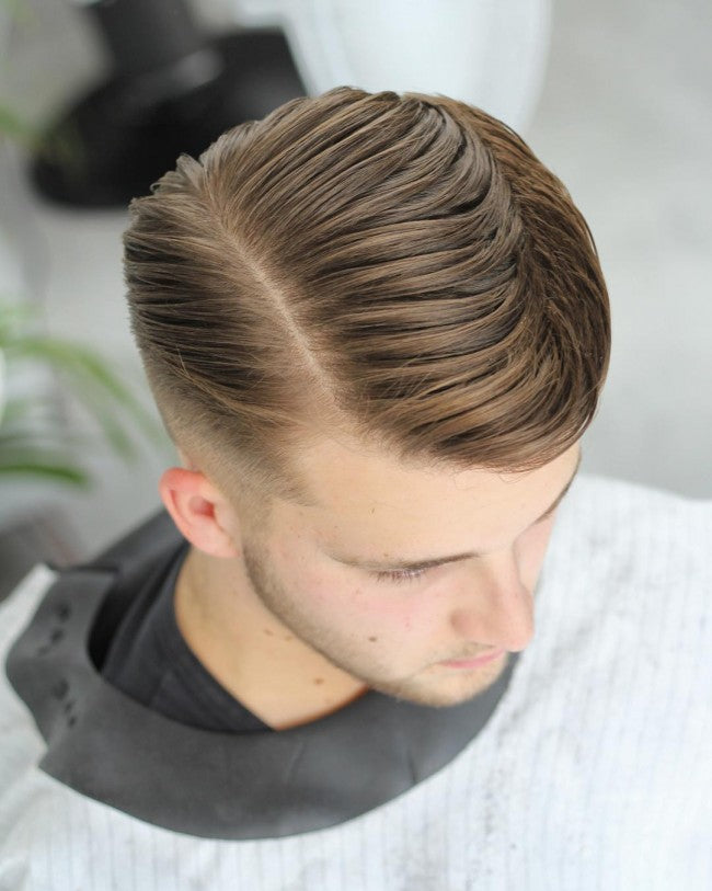 Side Part Comb Over