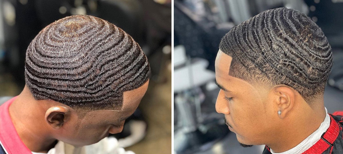 cheveux waves 360