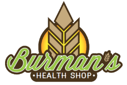 Burman's Health Shop | CBD Oil & Kratom Store Logo