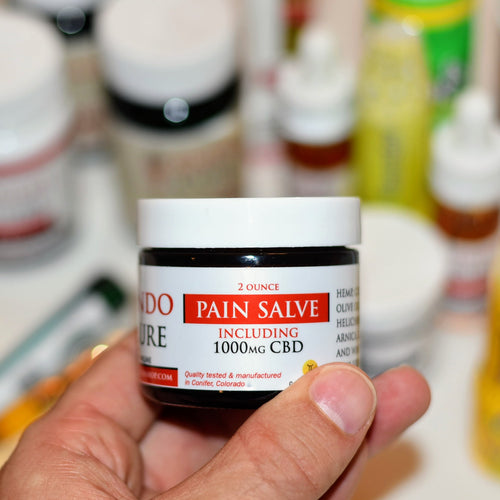 EndoCure CBD Pain Relief Salve 1000mg
