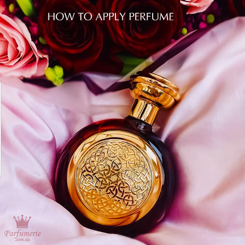 How to apply perfume