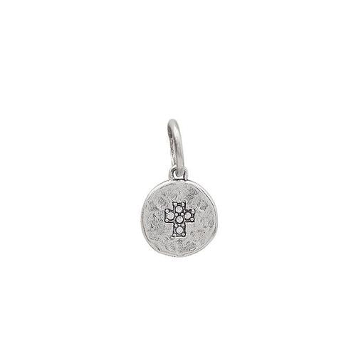Waxing Poetic Illuminations Charm Silver Cross