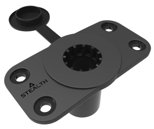 Stealth QR-1 Twin Pack with Flush Mount Bases