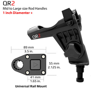 QR-2 Twin Pack - With Universal Rail Mounts
