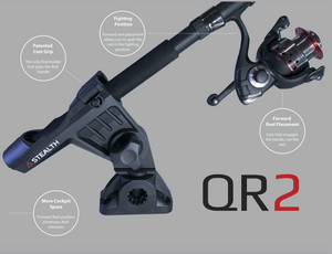 QR-2 Twin Pack - With Kayak Rail Mounts