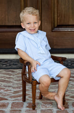 Load image into Gallery viewer, Baby Blue Nautical Boys Sailor Suit