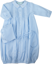 Load image into Gallery viewer, Boys Blue Take-Me-Home Gown & Hat