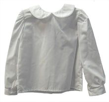 Load image into Gallery viewer, Girls White Long Sleeve Blouse