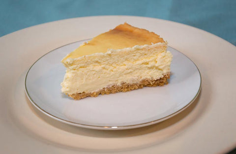 NY Style Cheesecake with Lemon Zest