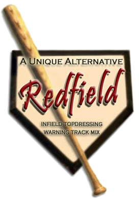 Redfield Logo with Home base and bat