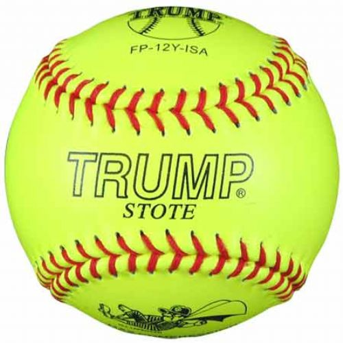 Trump® FP-12Y-ISA 12 Inch 47/525 ISA Fastpitch Leather Softball