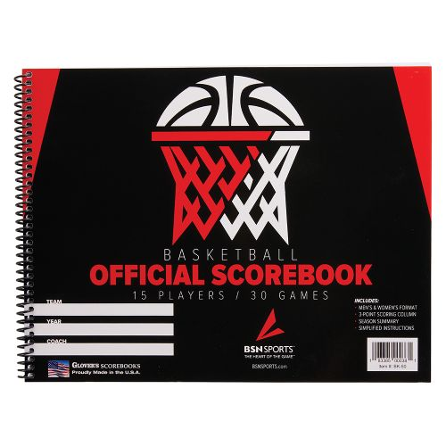BSN Sports Basketball Scorebook