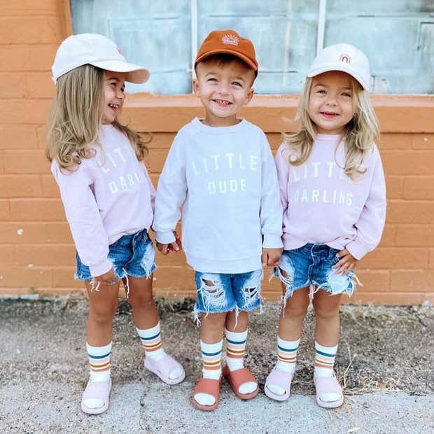Little Darling Essential Crewneck | Mommy and Me Sweatshirts 1