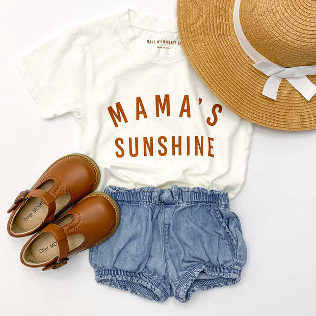 Mama's Sunshine Essential Tee | Mommy and Me 1