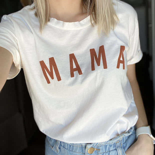 Sunshine Mama Essential Tee | Mommy and Me 1