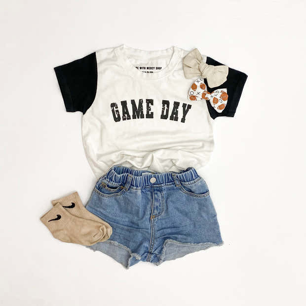 Child Game Day Essential Tee | Mommy and Me 1