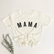 Mama Curved Essential Tee   Mommy and Me 1