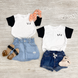Sis Colorblock Essential Tee | Mommy and Me 1