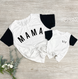 Mama Colorblock Essential Tee   Mommy and Me 1