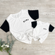 Mama Colorblock Essential Tee - Left Chest Design   Mommy and Me 1