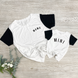 Mini Colorblock Essential Tee   Mommy and Me 1