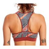 W's Sports Bra in Isla del Sol Print