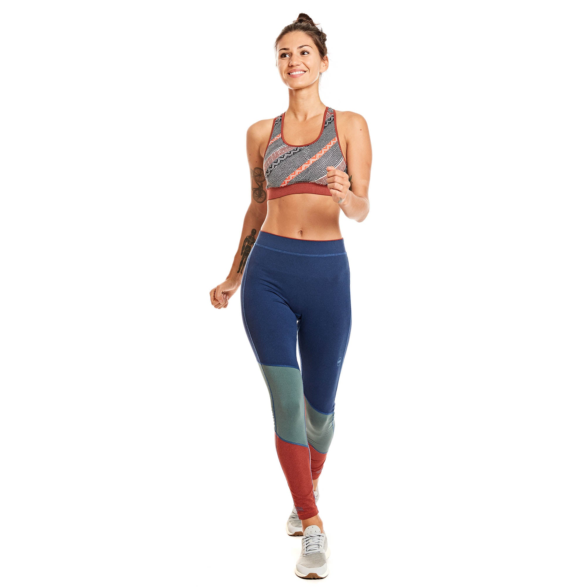 W's Bolivia Deviation Crop Tight in Potosí Blue