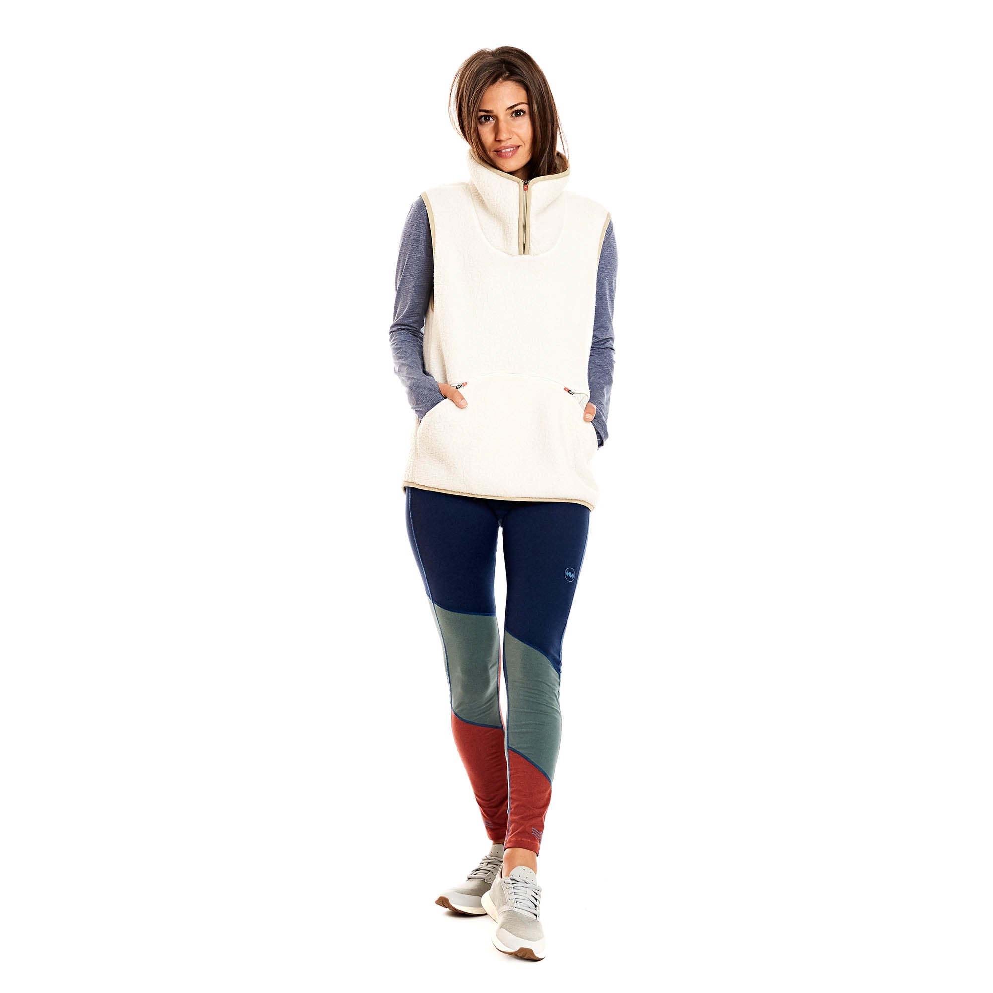 Expedition Fleece Vest in Salar