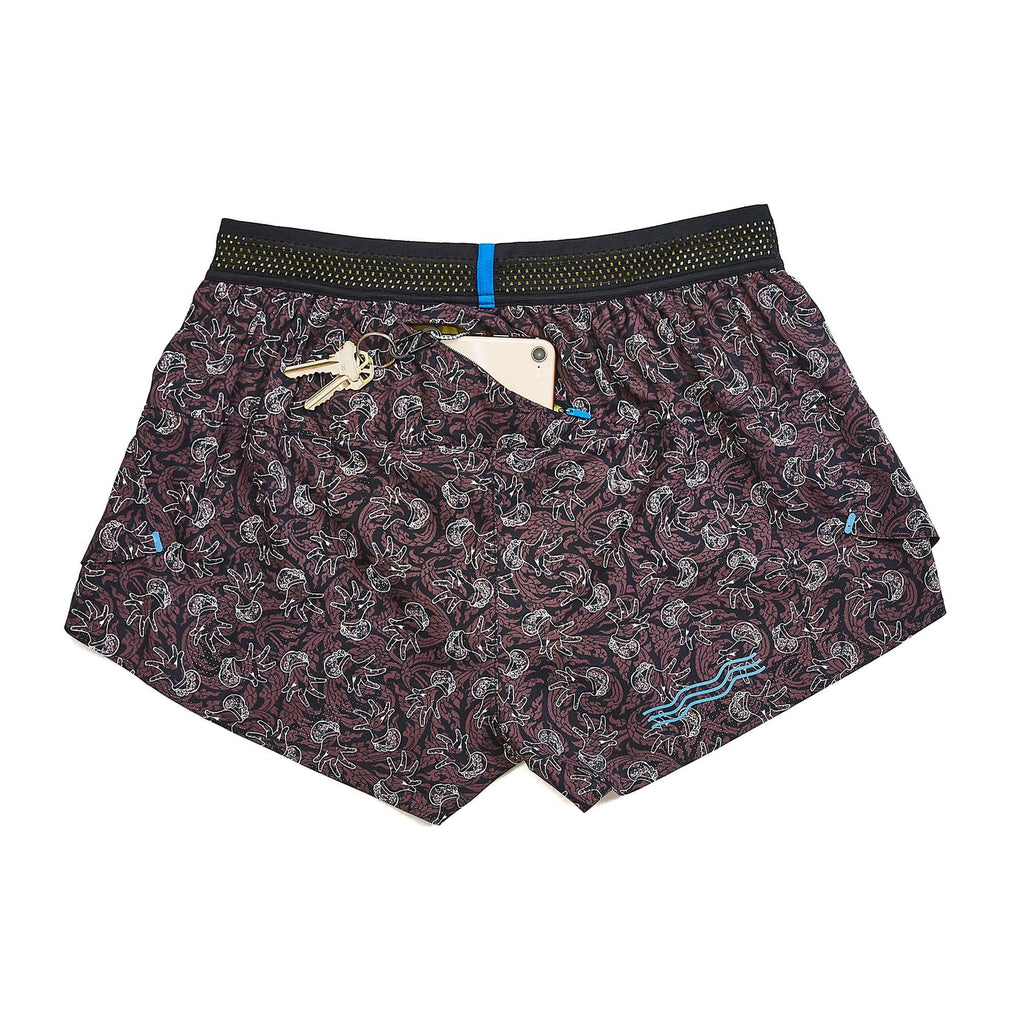 "W's 3'' AVR Middle Short in Chifumi ""Dance Style"" Flower"