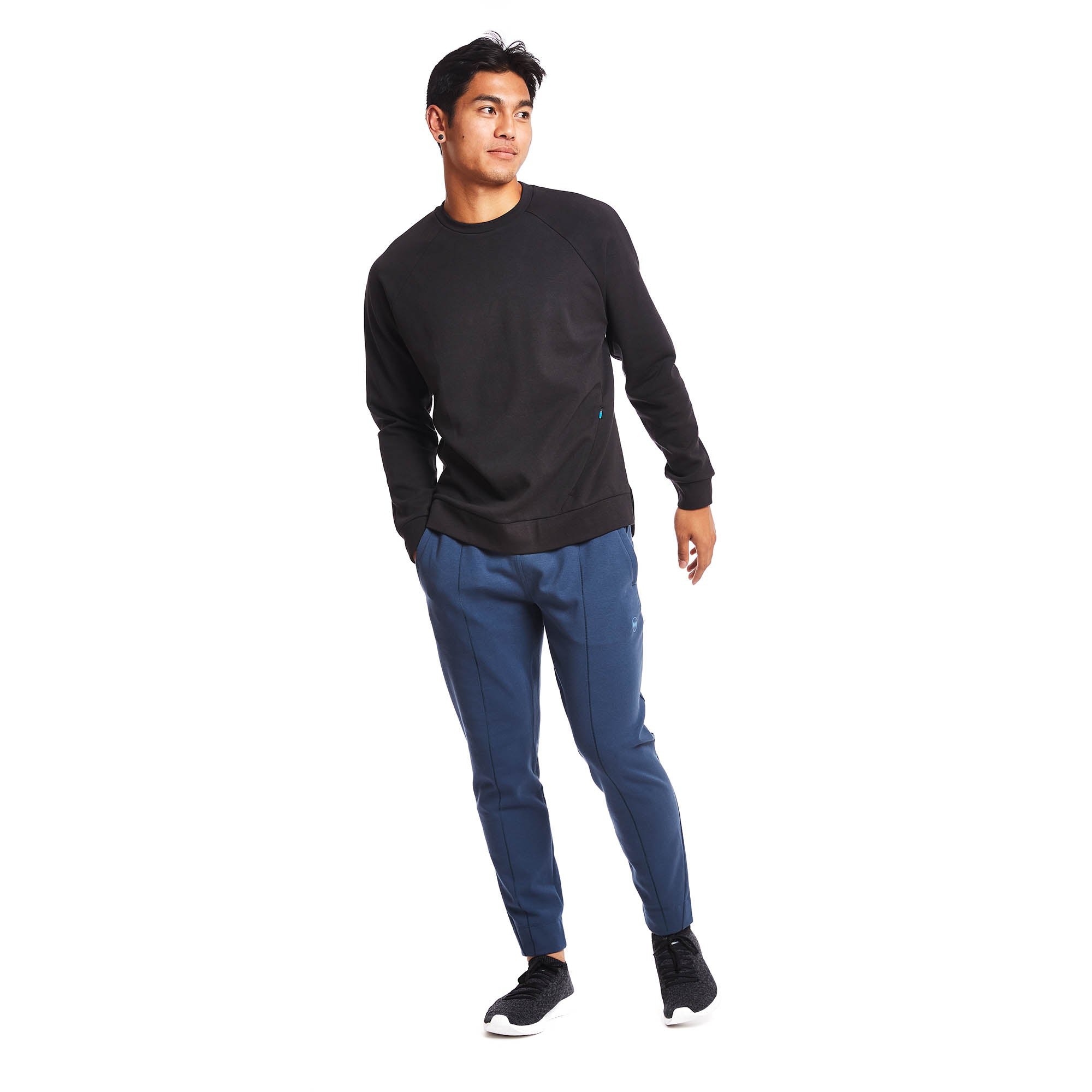Circuit Crew Pullover in Midnight