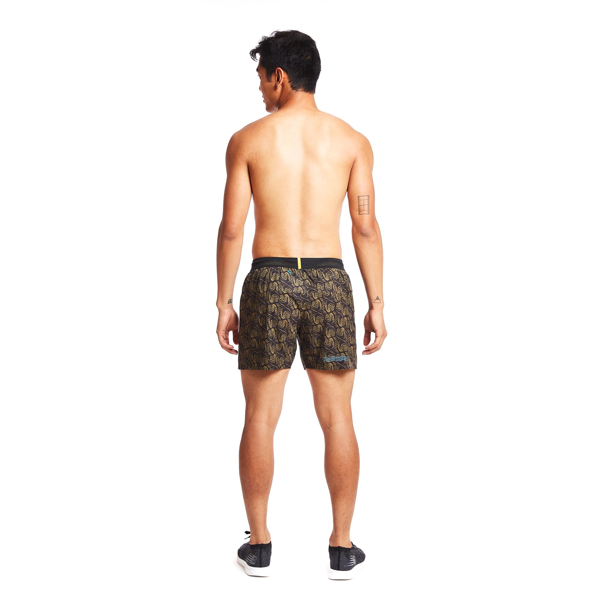 M's 5'' AFO Middle Short in Miel Lace
