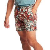 M's 6'' Transit Tech Short in Floral Camo