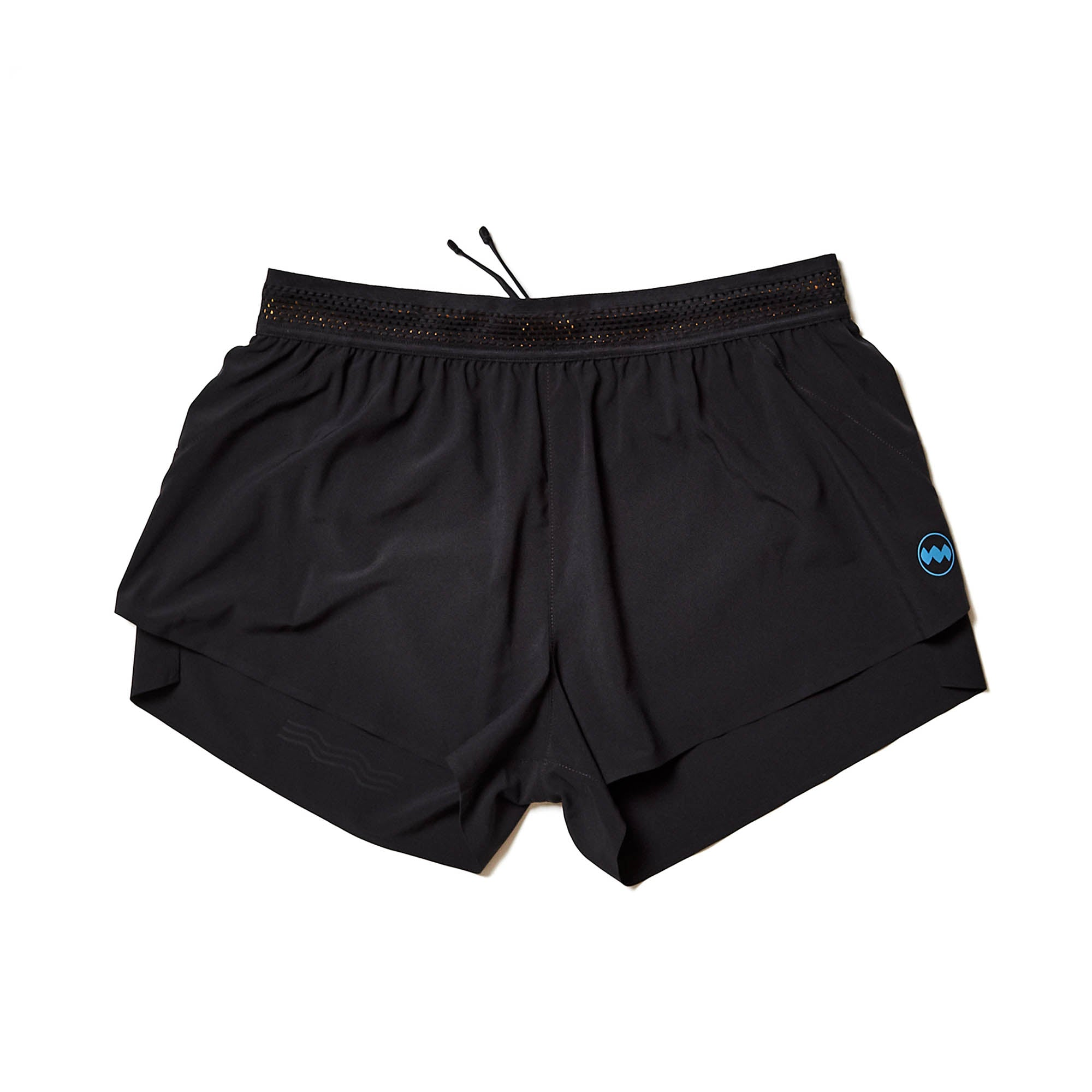 "W's 3"" AFO Middle Short in Midnight"