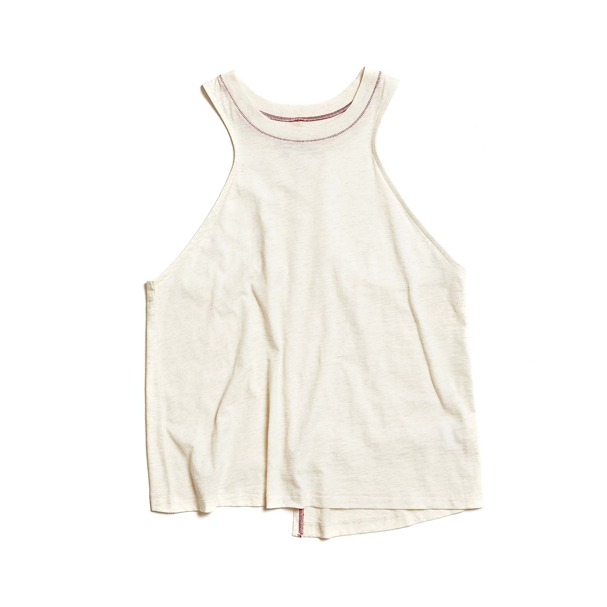 W's Runpaca Wrap Tank in Moonlight