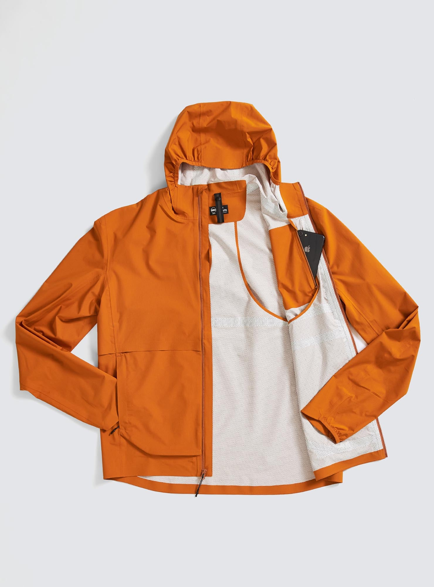 M's Rainrunner Pack Jacket in Canyon