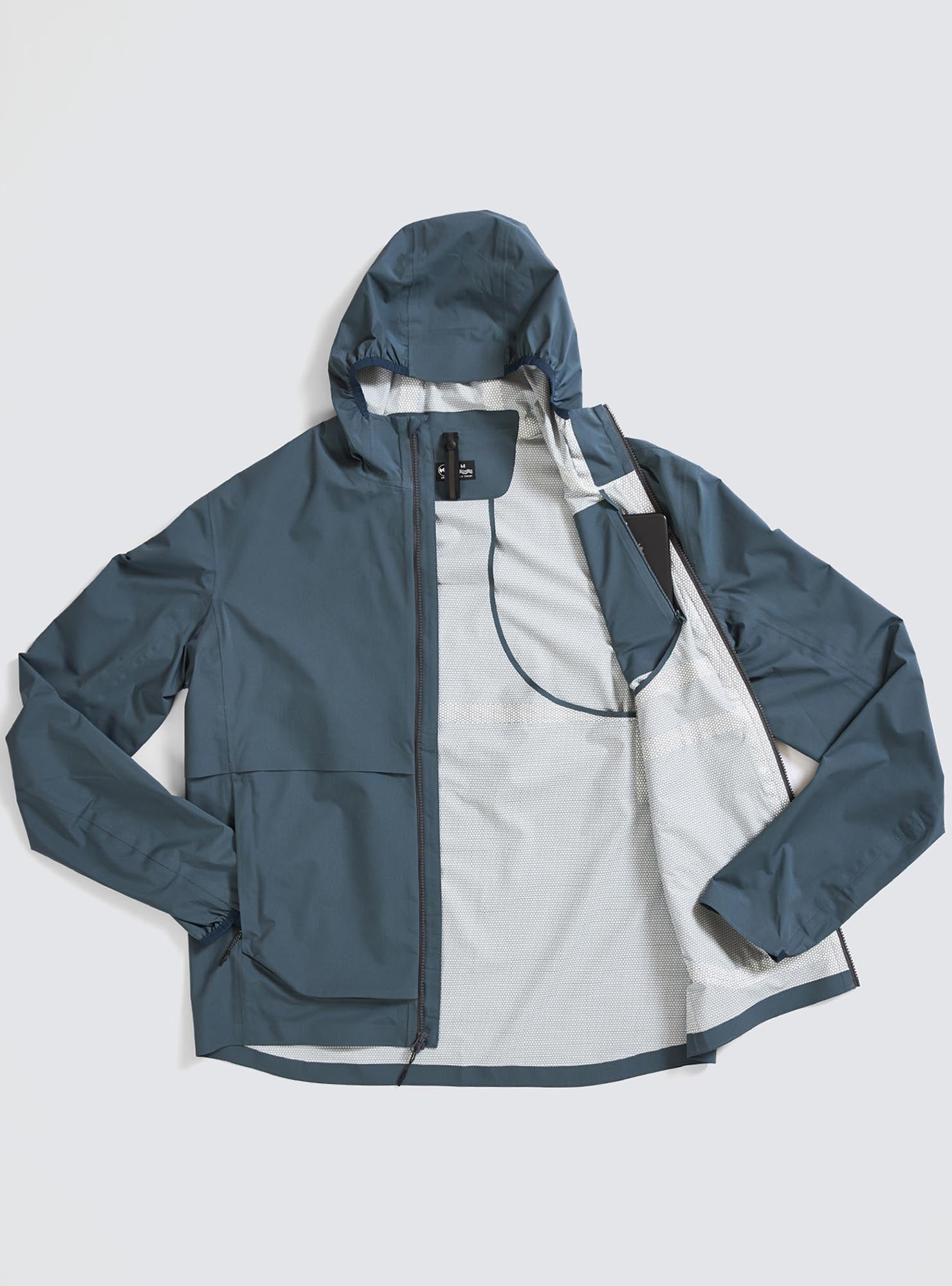 M's Rainrunner Pack Jacket in Thunderhead