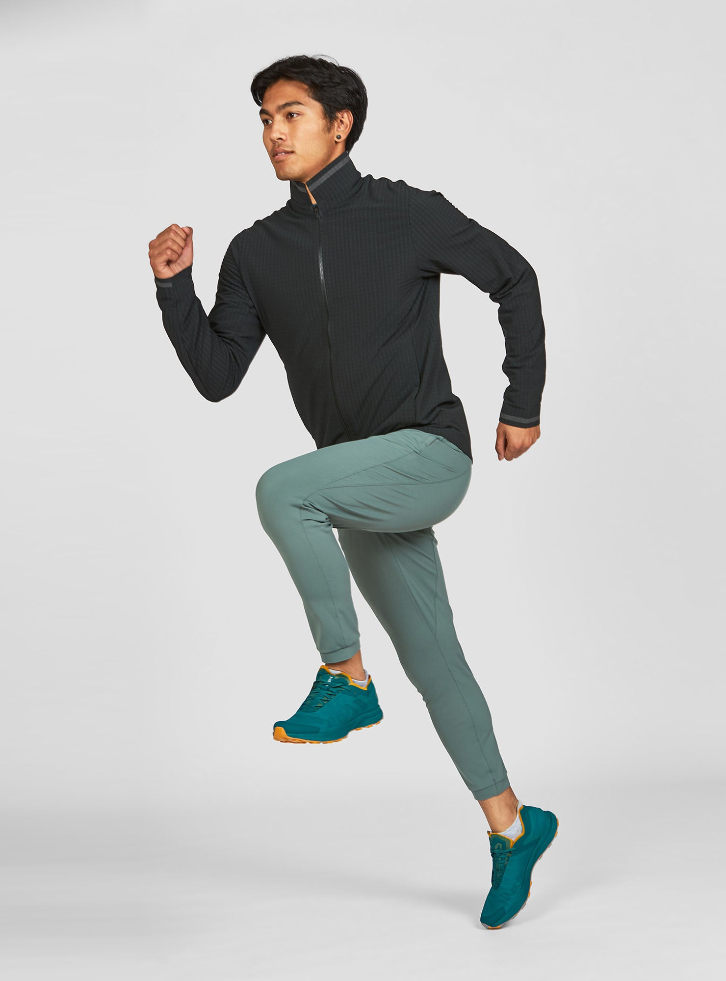 M's Stormrunner Fleece Jacket in Midnight