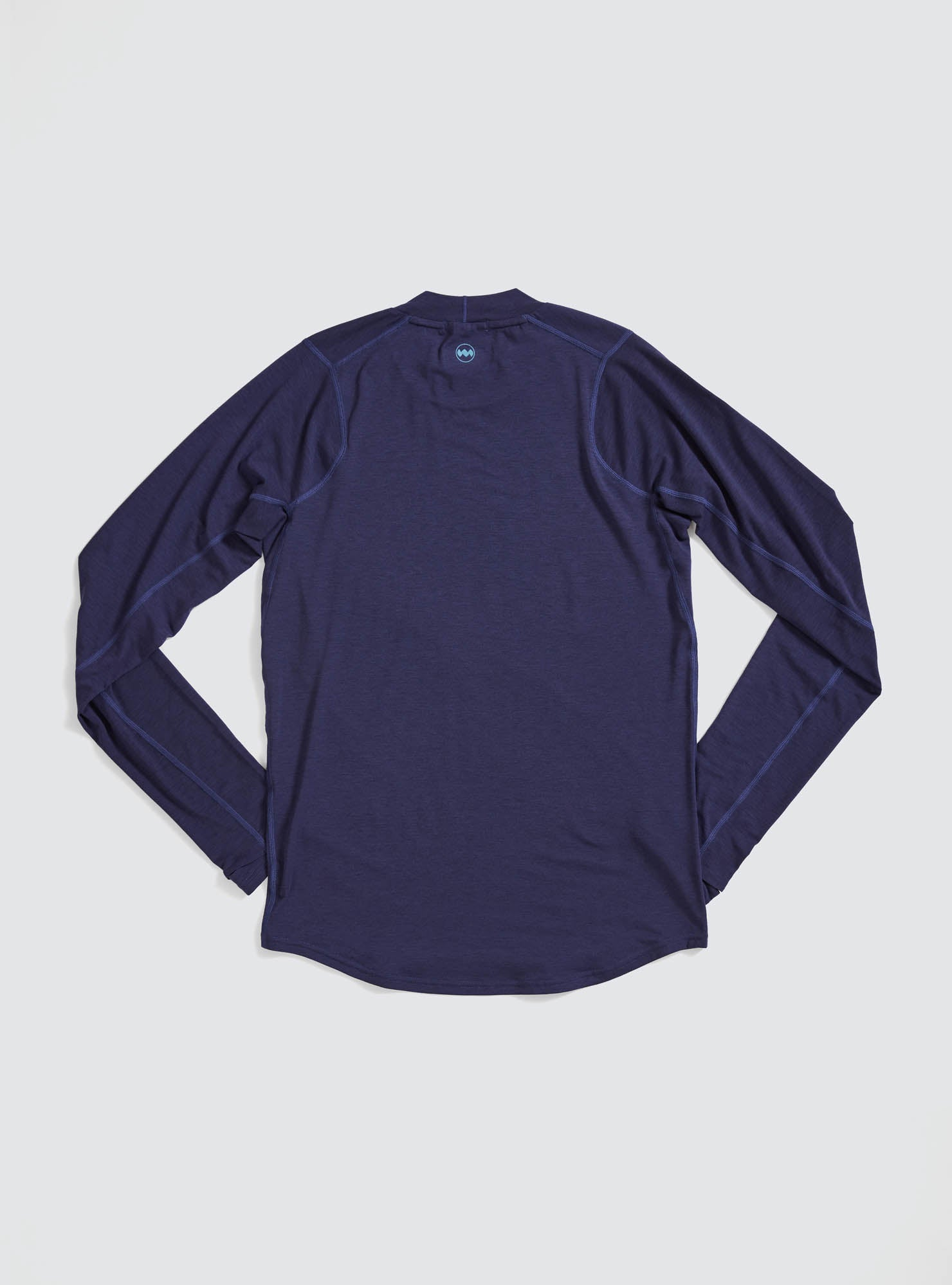 M's Swift Tech Mockneck LS in Astral
