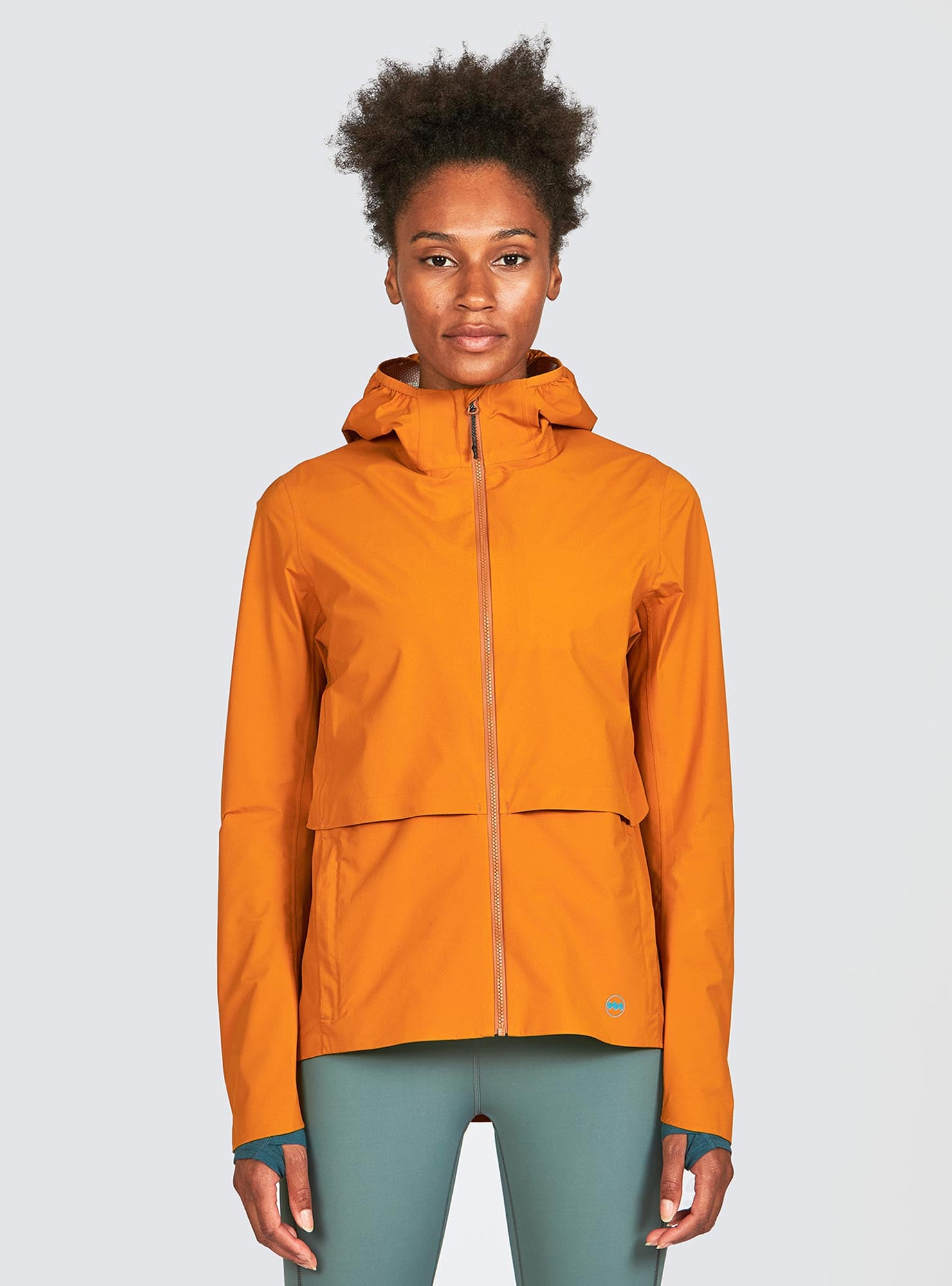 W's Rainrunner Pack Jacket in Canyon