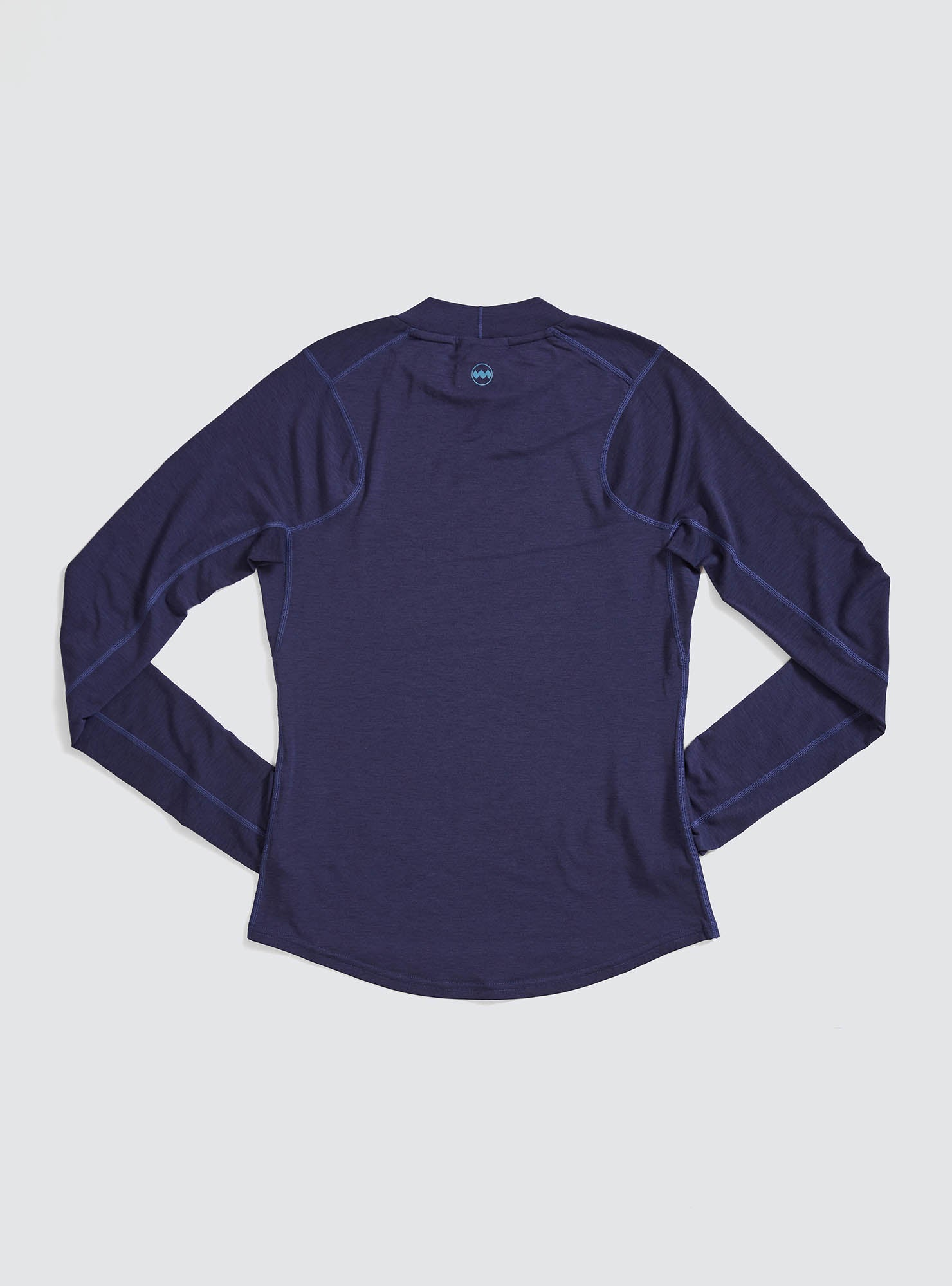 W's Swift Tech Mockneck LS in Astral